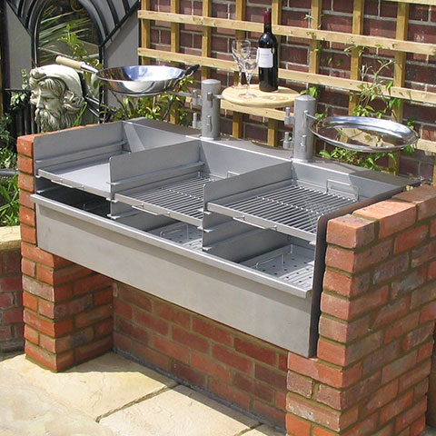 Stainless Steel Bespoke Barbecues