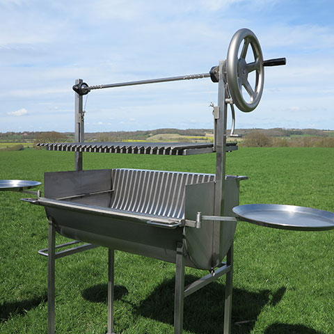 The Stainless Steel Asado Barbecue