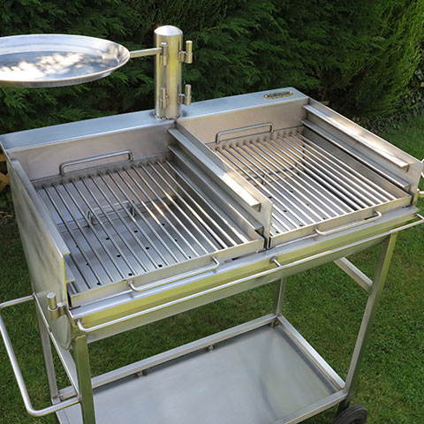 The Stainless Steel Barrel Barbecue
