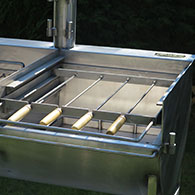 Kebab Rack for Barrel Barbecue 3