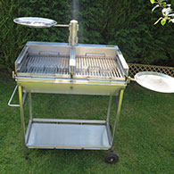 Shallow Tray for Barrel Barbecue 1 - Can be used instead of 'Side Trays'