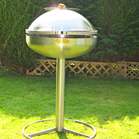 Turn the Ikon Barbecue from a Grill to an Oven 2