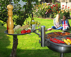The Ikon Barbecue comes with two shallow trays - Need three? 2/2