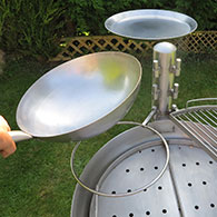 Swivelling Wok Ring for the Ikon Barbecue 1