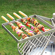 Kebab Rack for the Mini Ikon Barbecue